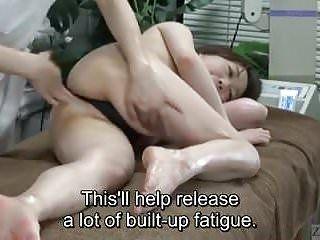 Sous-titré ENF CFNF Japonais Lesbienne Massage Clinique Anal Care