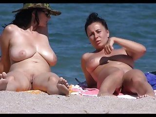 2 french breasty at the beach hd