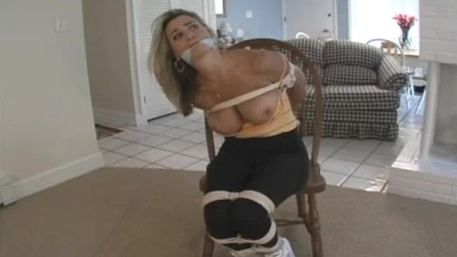 Shellie bound, gagged large pantoons out