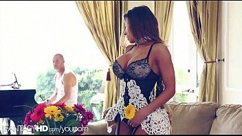 Dream hd - french maid stuffed during the time that that babe works