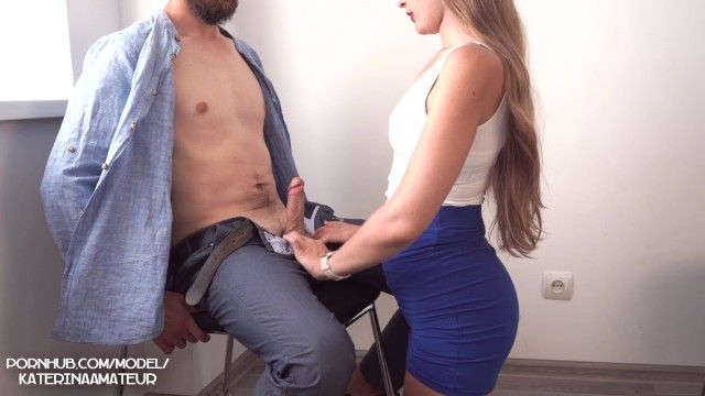 Interview in the office with youthful secretary ended with large cum on pointer sisters 4k