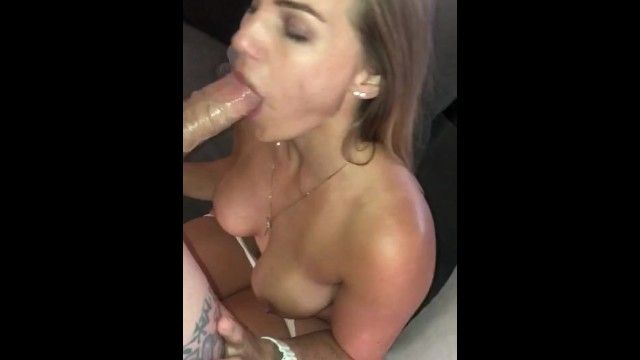 Wife sucks random lads biggest pulsating cck